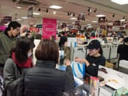 遠鉄百貨店は県内最大の112ブランドを集めた