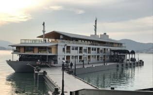 瀬戸内海の寄港数増に寄与した小型豪華客船「ガンツウ」