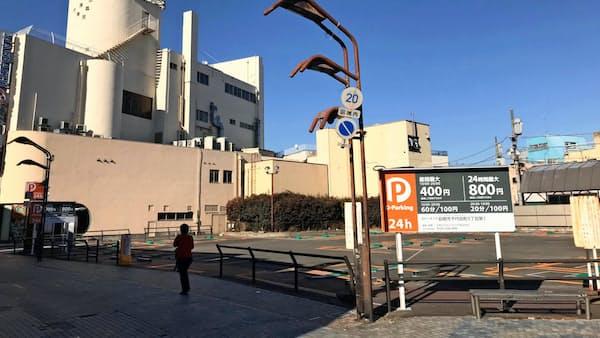 前橋のスーパー跡地、田中仁財団主導で再開発