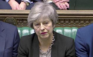 メイ英首相はEUとの協議で離脱問題を打開できるか=ロイター