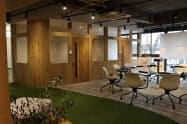 メンバーズギフテッドが開設したサテライトオフィス(福岡市)