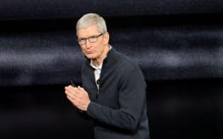 米アップルのティム・クック最高経営責任者