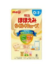 明治は粉ミルクで展開する「ほほえみ」ブランドで液体ミルクを商品化する方針。