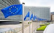 欧州委員会本部ビル(ブリュッセル)=欧州委提供