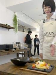新製品で作った料理が無料で味わえる(東京・港)