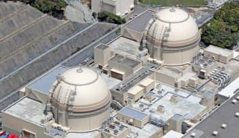 関電は大飯原発の再稼働で経営体力を回復している(福井県おおい町)