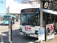 ことでんバスでは、運転士が慢性的に不足している(高松市)