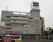 JR前橋駅前の複合施設「エキータ」(群馬県前橋市)