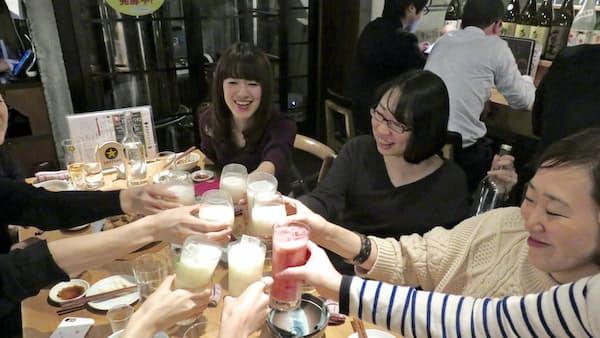 店内醸造「クラフトどぶろく」人気ブクブク(日経MJ)
