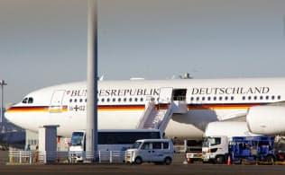 機体の文字は「ドイツ連邦共和国」を意味する