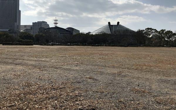 広島中央公園の広場