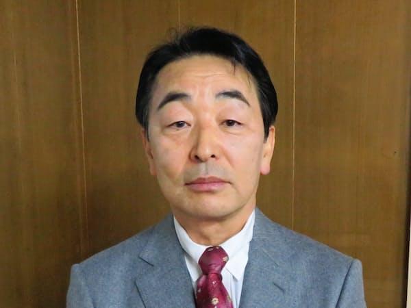 島根県知事選に出馬表明した島田二郎氏