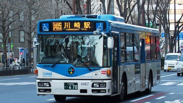 川崎市バス、10月に運賃引き上げ 24年ぶりの本格改定