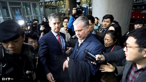 米特別代表が6日訪朝へ 米朝再会談へ調整