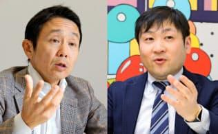 古川智章氏(左)と曽和利光氏