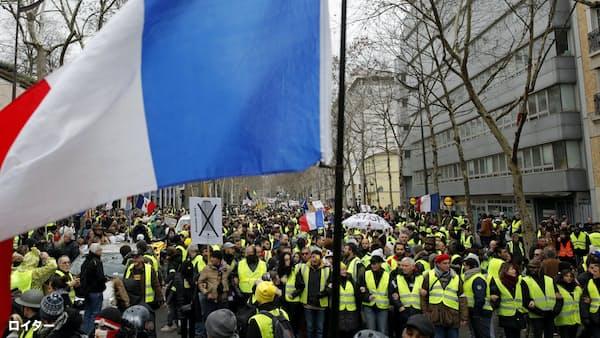 仏、抗議デモ規制法案可決へ 人権団体などが批判