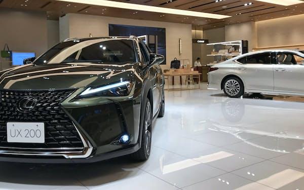 トヨタの高級車「レクサス」を月額18万円で乗り換えられる