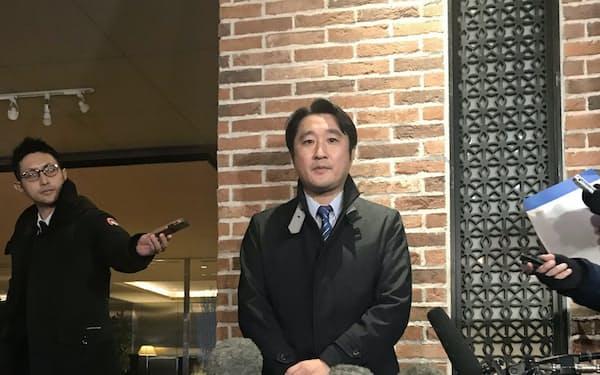 立憲民主党道連、国民民主党道連などが出馬を要請する石川知裕氏