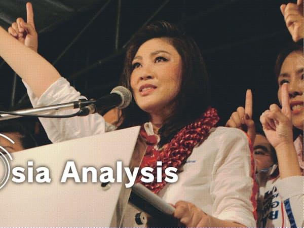 8年前の前回総選挙はタクシン派が妹のインラック氏を首相候補に押し立て、圧勝したが……(2011年、バンコク)