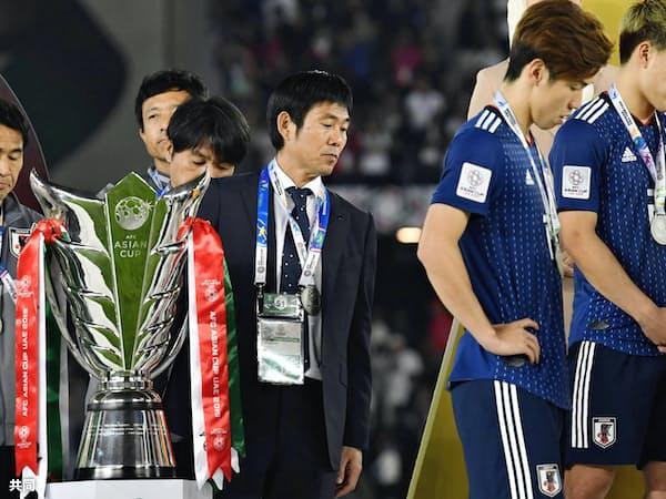 アジアカップは日本代表にとって課題と同時に、いくつもの収穫があった大会だった=共同