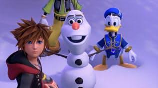 スクウェア・エニックスが販売する「キングダムハーツ3」のゲーム画像 (C)Disney  (C)Disney・Pixar Developed by SQUARE ENIX