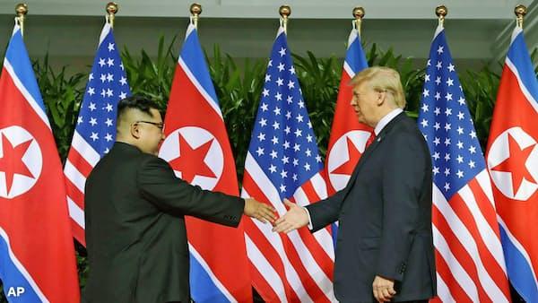 米朝首脳再会談、ベトナムのハノイで トランプ氏表明