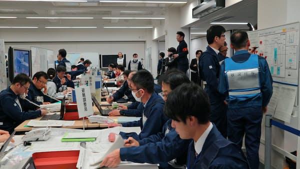 新潟県、原発事故に備え初の机上訓練