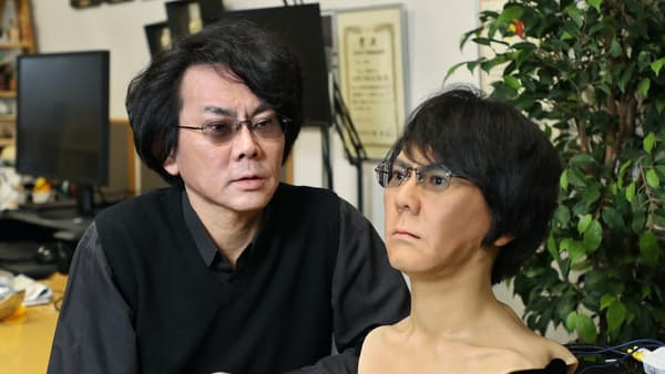 ロボと共生、対話が大切 大阪大学教授 石黒浩さん