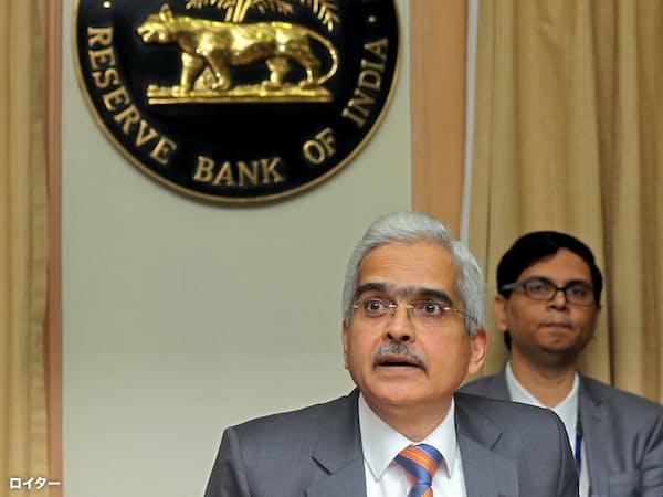 インド準備銀行は1年半ぶりの利下げに踏み切った=ロイター