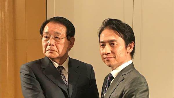 前知事、後継の現職推さず 新人を支援 福岡知事選