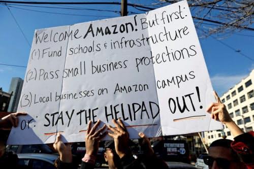 ニューヨーク市のクイーンズ区は中間所得者が多く、家賃の急騰や学校など公共施設の不足を懸念する声が出ている=ロイター