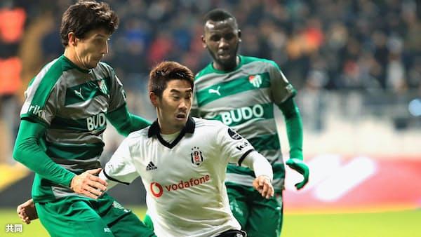 香川が途中出場、チームは勝利 トルコ1部