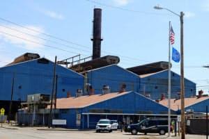 USスチールは増産計画を打ち出している(18年6月に再稼働したイリノイ州の製鉄所)