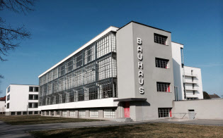 バウハウスの活動拠点となったデッサウ校舎