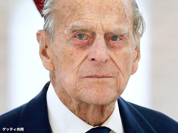 英国のフィリップ殿下=ゲッティ共同
