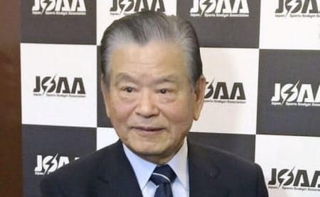 日本サッカー協会元会長の川淵三郎氏は東京都内での講演後、「(日本)高野連は旧態依然たる体質を変えないと」と批判した(1月26日)=共同