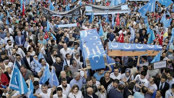 トルコ、ウイグル弾圧を非難 中国は反発