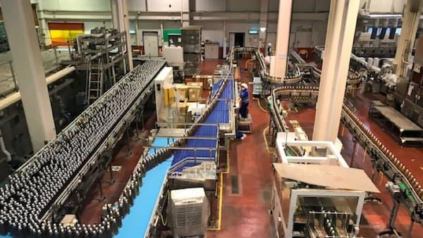 ジャパンフーズ本社工場、大手飲料から受託