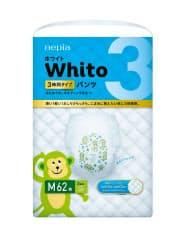 王子ネピアが発売する「ネピアWhito(ホワイト)」の「パンツMサイズ3時間タイプ」