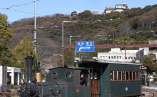 1位の松山城下