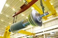 三菱日立パワーシステムズが製造する大型ガスタービン(兵庫県高砂市の高砂工場)