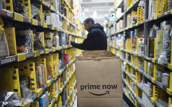 アマゾンは膨大な販売データを握る                                                   (米ニューヨーク)=AP