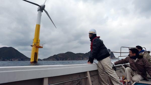 洋上風力が日本で始動 オリックス参入、課題はコスト