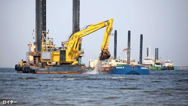 米、ロシアから独へのガス網に反対 LNG販売狙う