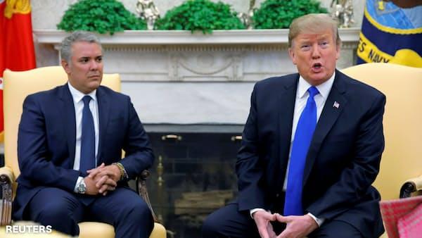 トランプ米大統領、対ベネズエラで「複数の計画」