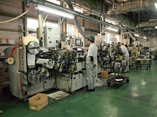 高付加価値市場の開拓でさらなる成長を目指す(静岡県袋井市の本社工場)