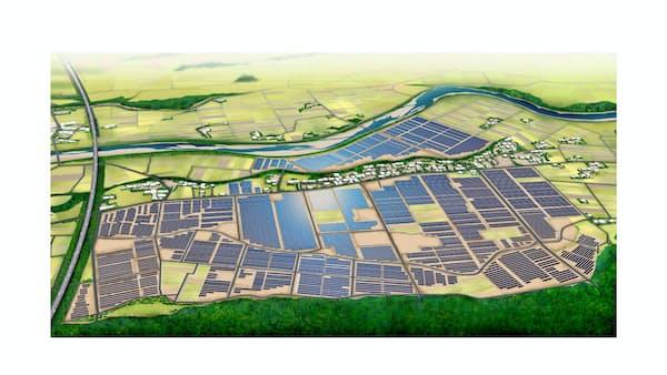 福島送電、詳細固まる 太陽光11・風力10接続