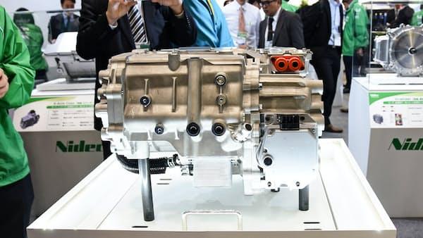 日本電産、中国で生産能力倍増 EV用モーター