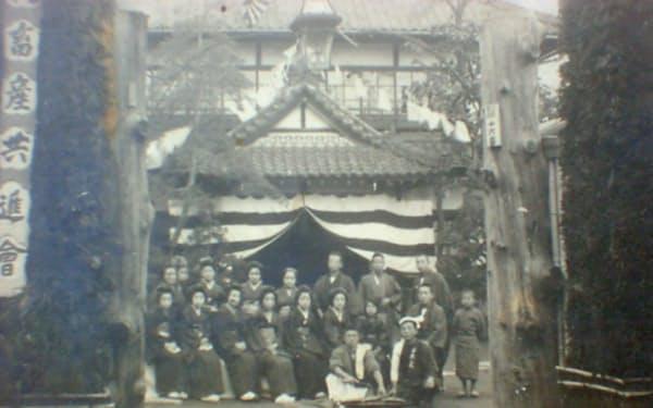1885年に建設され1985年に解体された旧館