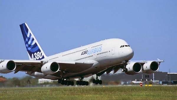 超大型機時代に幕、エアバスが「A380」生産中止